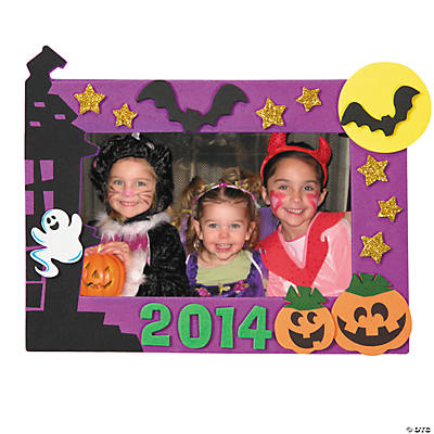 2014 Halloween Picture Frame Magnet Craft Kit - Makes 12