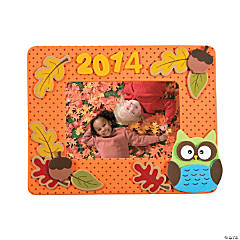 Fall 2014 Picture Frame Magnet Craft Kit - Makes 12