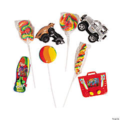 Swirl Pops with Toys