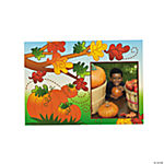 Fall Leaves & Pumpkins Picture Frame Cards