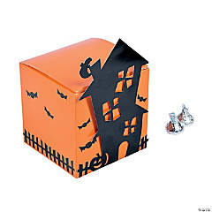 Haunted House Favor Boxes