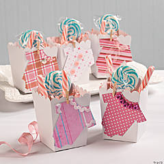 Onesie Baby Shower Favors Idea