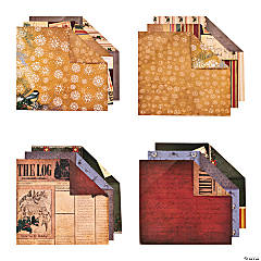 Christmas Cabin Scrapbook Collection