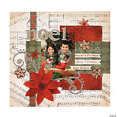 Christmas Music Scrapbook Collection