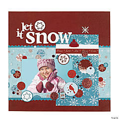 Snowy Splendor Scrapbook Collection