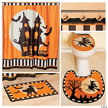 Halloween Silhouette Bathroom Collection Terry S Village