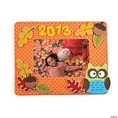 Fall 2014 Picture Frame Magnet Craft Kit - Makes 3
