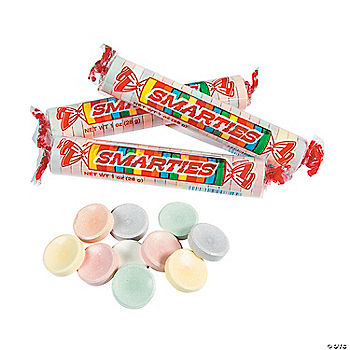 Smarties® Giant Hard Candy Rolls Smarties Jumbo