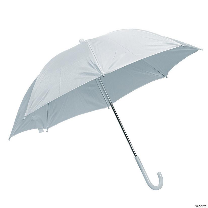 White Umbrellas 24 Pc