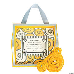 Yellow & Gray Hanging Tray