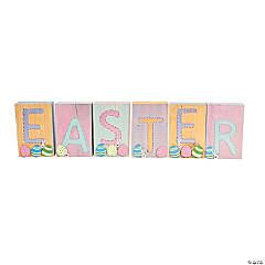 """Easter"" Wooden Blocks Idea"