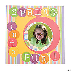 Spring Into Fun Scrapbook Page Idea