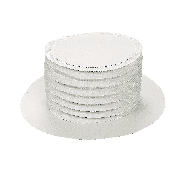 DIY White Top Hats - 48 pcs. - Oriental Trading - photo#43