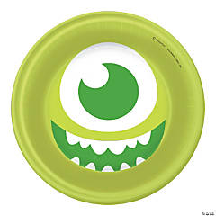 1st Birthday Monsters, Inc. Dessert Plates