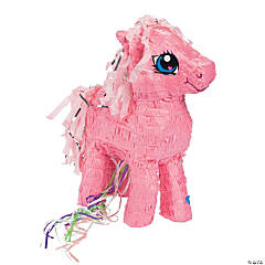 Papier-Mâché My Little Pony™ Pull-String Piñata