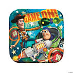 Toy Story Game Time Square Dinner Plates