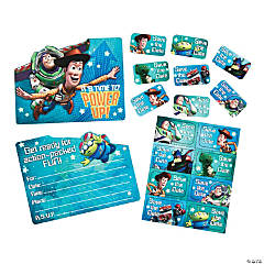 Toy Story Game Time Birthday Party Invitations