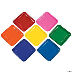 Mega Bright Square Plates Pack