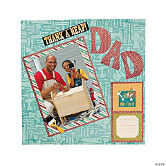 Father's Day Scrapbook Page Idea