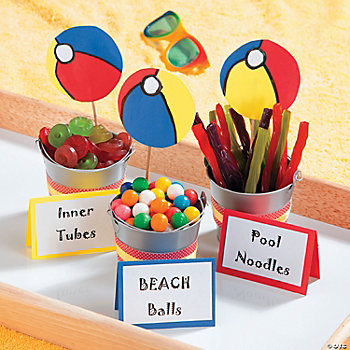 Pool Party Favors Idea - Oriental Trading