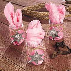 Pink Cowgirl Favors