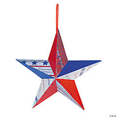 Patriotic Barn Star Idea