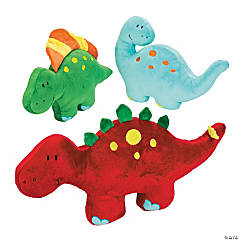 Plush Dinosaur Pillows