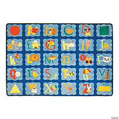 Alphabet Blues® Classroom Rug