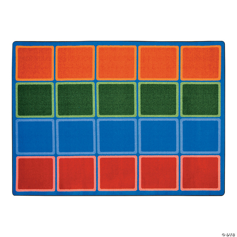 Large Classroom Rug Cheap: Blocks Abound® Classroom Rug