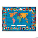 Hands Around The World® Classroom Rug