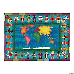 Let The Children Come® Classroom Rug