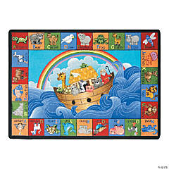 Noah's ABC Animals® Classroom Rug