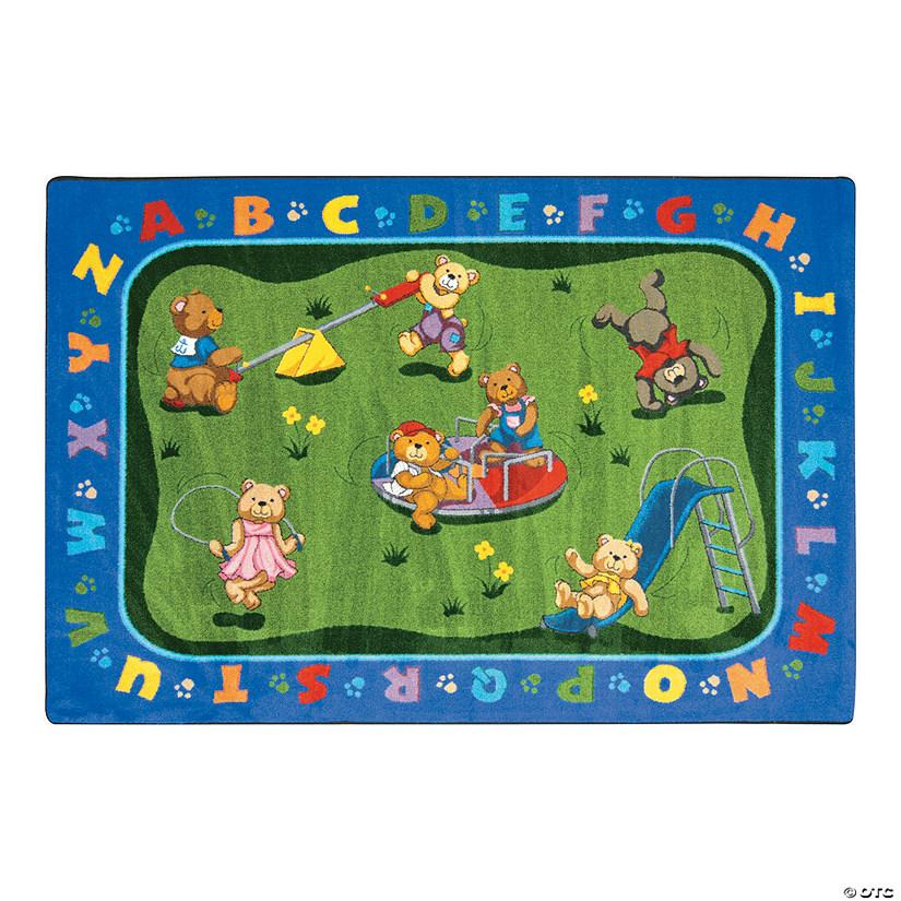 Large Classroom Rug Cheap: Teddy Bear Playground® Classroom Rug