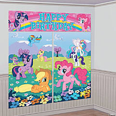 Plastic My Little Pony™ Friendship Is Magic Scene Setter