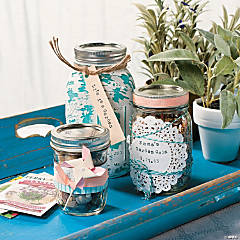 Garden Party Jars Idea
