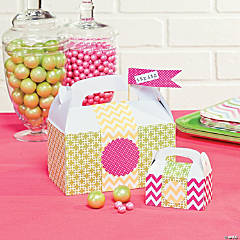 Spring Bright Treat Boxes Idea