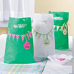 Thanks! Pennant Banner Bags Idea