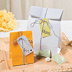 Simple Chic Treat Bags Idea