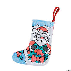 Color Your Own Mini Christmas Stockings