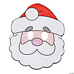 Color Your Own Santa Masks