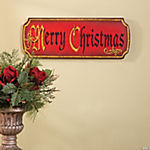 """Merry Christmas"" Wall Sign"