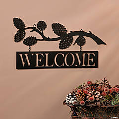 Welcome Lodge Sign