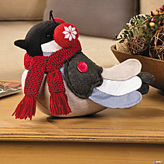 Chirp Plush Winter Bird
