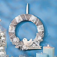 Peace on Earth Wreath