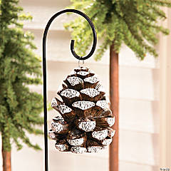 Pinecone Bird Feeder Yard Stake