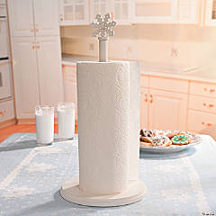 Snowflake Paper Towel Holder
