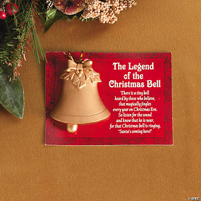 """Legend of the Christmas Bell"" Christmas Ornaments"