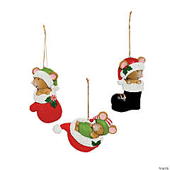 Mice Christmas Ornaments