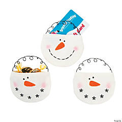 Snowman Bag Christmas Ornaments