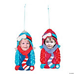 Ski Jacket Picture Frame Christmas Ornaments